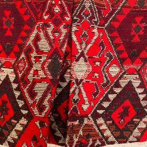 Zara Bottoms - red and white girl skirt